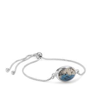 K2 Jasper Slider Bracelet in Sterling Silver 6cts