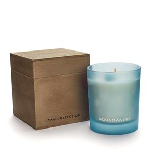Birthstone Candle - March Aquamarine Candle, Ocean Fragrance ATGW 60cts