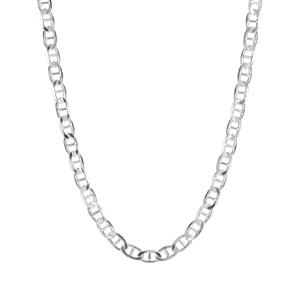 """20"""" Sterling Silver Altro Flat Rambo Necklace 17.50g"""