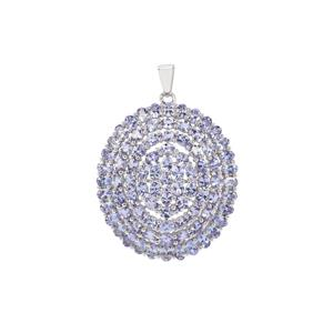 Tanzanite Pendant in Sterling Silver 14.96cts