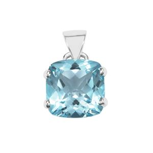 Sky Blue Topaz Pendant in Sterling Silver 14.50cts