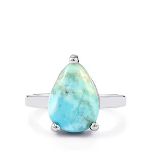 5.48ct Larimar Sterling Silver Ring