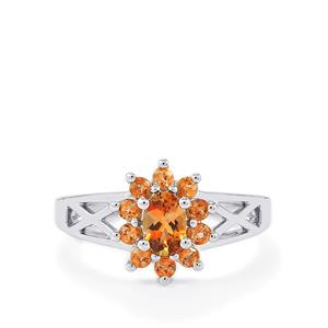 Sopa Andalusite Ring  in Sterling Silver 0.80ct