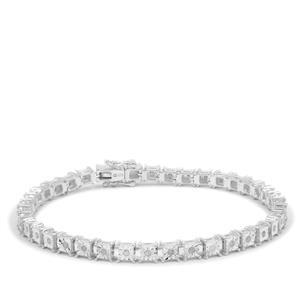 Diamond Bracelet in Sterling Silver 0.51ct