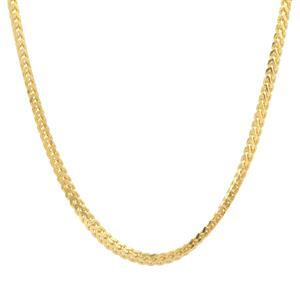 "22"" Midas Tempo Diamond Cut Franco Slider Chain 3.29g"