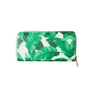 Destello Palm Leaf Purse