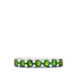 0.94ct Chrome Diopside Sterling Silver Ring