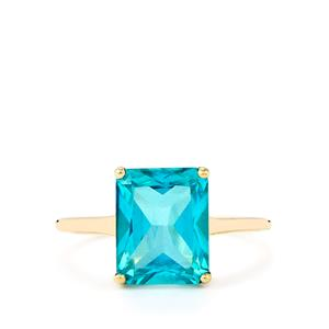 Batalha Topaz Ring in 10k Gold 4.03cts