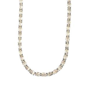 45.43ct Serenite Sterling Silver Necklace