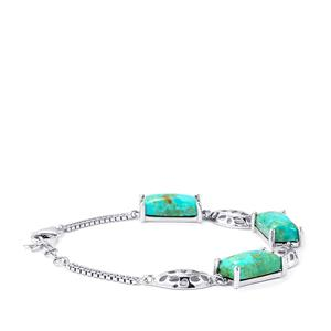 Cochise Turquoise Bracelet in Sterling Silver 19.90cts