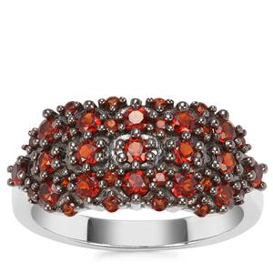 Anthill Garnet Ring in Sterling Silver 1.21cts