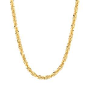 """18"""" Midas Couture Diamond Cut Criss Cross Chain 3.36g"""