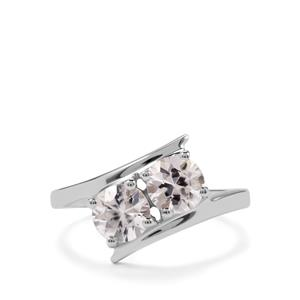 2ct Ratanakiri Zircon Sterling Silver Ring