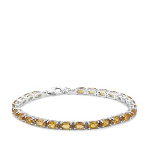 10.07ct Scapolite Sterling Silver Bracelet