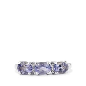 Bengal Iolite Ring in Sterling Silver 1.13cts