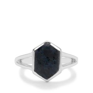 Russian Rhodusite Ring in Sterling Silver 4cts