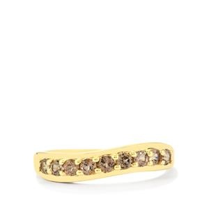 Bekily Color Change Garnet Ring in 10k Gold 0.59ct