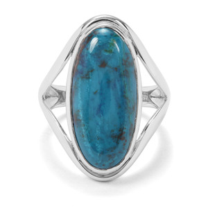 11.48ct Chrysocolla Sterling Silver Ring