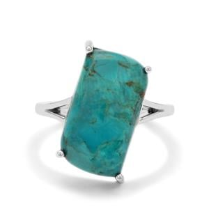 Cochise Turquoise Ring in Sterling Silver 7.95cts