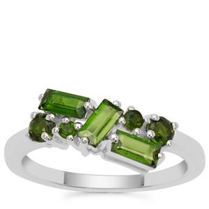 Chrome Diopside Ring in Sterling Silver 1.11cts