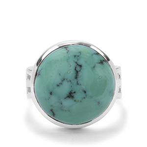 Lhasa Turquoise Ring in Sterling Silver 11cts
