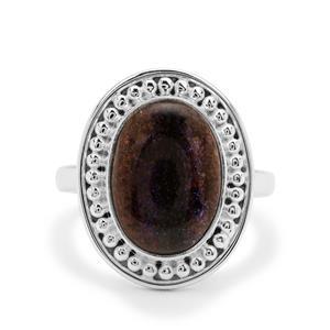 4ct Andamooka Opal Sterling Silver Aryonna Ring