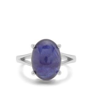 Thai Sapphire Ring in Sterling Silver 9.05cts