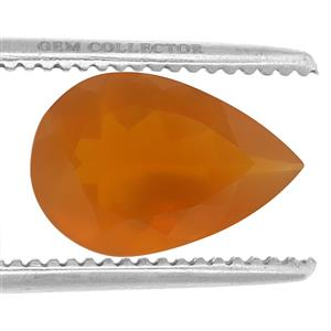 Orange American Fire Opal GC loose stone  3.40cts