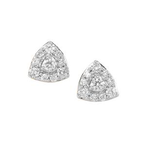 Argyle Diamond Earrings in 10K Gold 0.35ct
