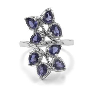 Bengal Iolite Ring in Sterling Silver 2.05cts