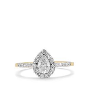 3/4ct Diamond 18K Gold Tomas Rae Ring