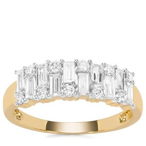 Diamond Ring in 18K Gold 0.78ct