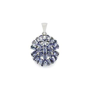 Tanzanite Pendant in Sterling Silver 6.19cts