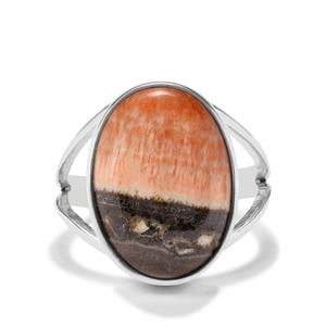 14ct British Barite Sterling Silver Aryonna Ring