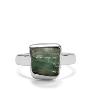 5.94ct Aquamarine Sterling Silver Aryonna Ring