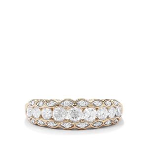 1.10ct Diamond 9K Gold Tomas Rae Ring