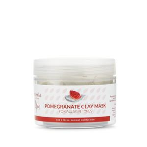 Natural Clay Mask Tub - Pomegranate (100ml)