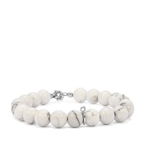 Magnesite Bracelet in Sterling Silver 92cts