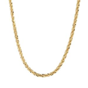 "18"" Midas Couture Diamond Cut Criss Cross Chain 3.20g"