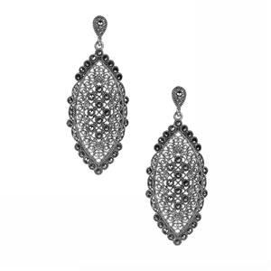 0.99ct Natural Marcasite Sterling Silver Jewels of Valais Earrings