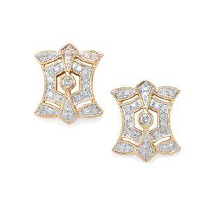 1/2ct Diamond 10K Gold Earrings