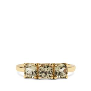 Csarite® Ring in 9K Gold 1.87cts