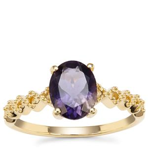 Bengal Iolite Ring in 9K Gold 1.28cts