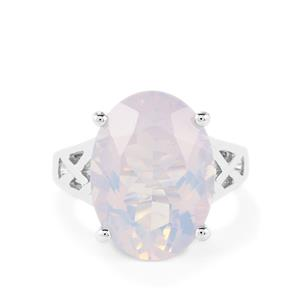 12.29ct Rio Grande Lavender Quartz Sterling Silver Ring