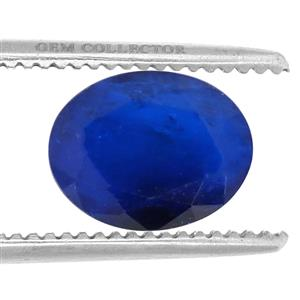 Santorinite™ Blue Spinel GC loose stone  1.50cts