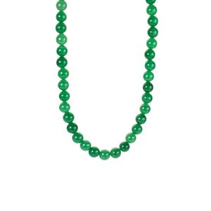 Burmese Jade Necklace in Sterling Silver 356.70cts