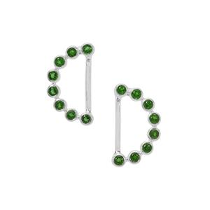 Chrome Diopside Earrings in Sterling Silver 0.61ct