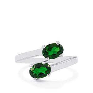 1.62ct Chrome Diopside Sterling Silver Ring