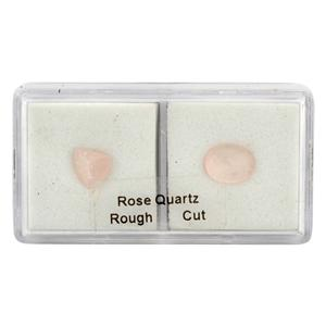 Rough & Cut Rose Quartz