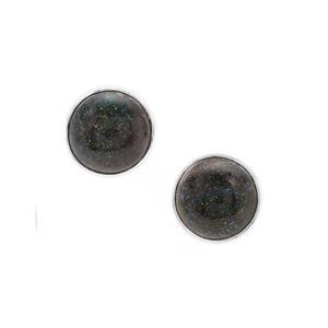 Andamooka Opal Earrings in Sterling Silver 5.50cts